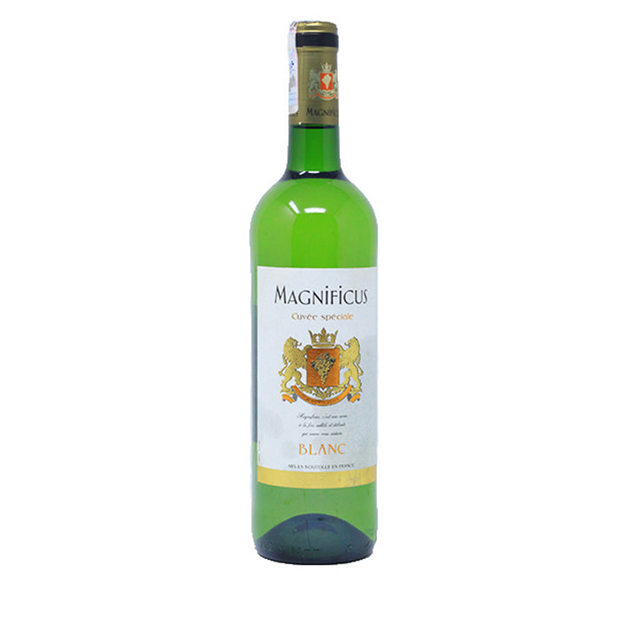 Magnificus Cuvee Speciale Dry White Wine75cl/Pc