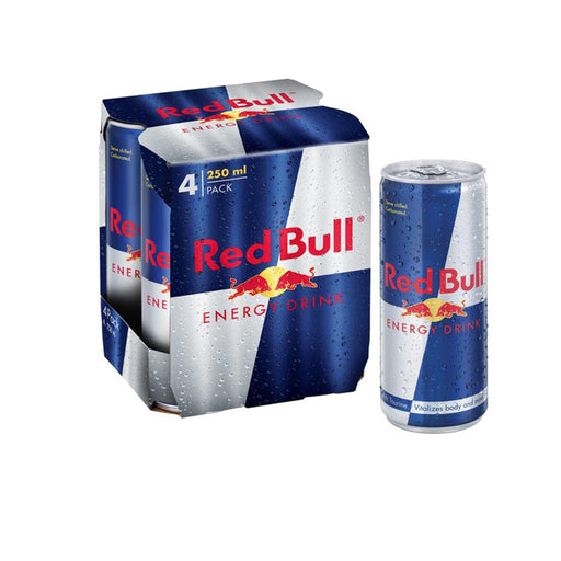 Red Bull Energy Drink 4pcs