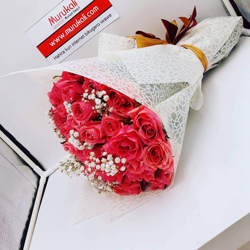 Rose Pink Bouquet /60pcs - murukali.com