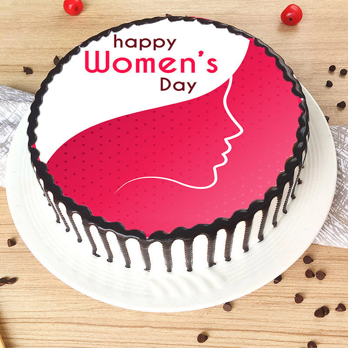 Happy Women's Day Cake
