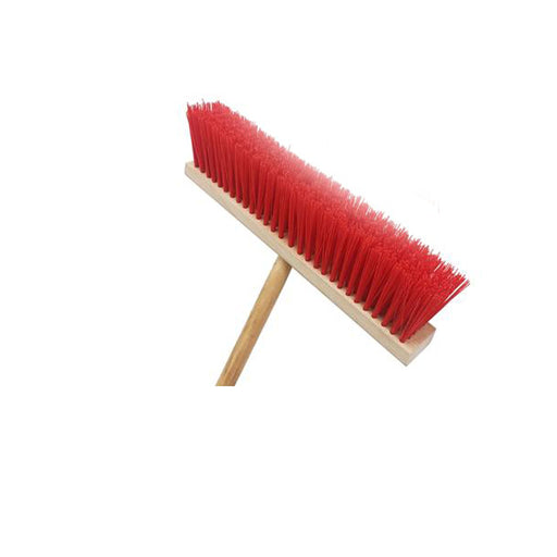 Wooden Red Broom - murukali.com
