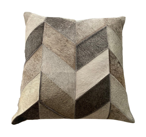 "Ashton Throw Pillow, Grey (20""x20""x4"")"