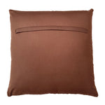 "Connor Throw Pillow, Brown/Ivory (20""x20""x4')"