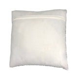 "Flake Throw Pillow, White (16""x16""x4"")"