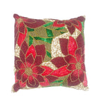 "Pax Throw Pillow, Red (16""x16""x4"")"