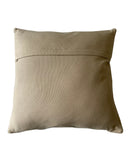 "Flynn Throw Pillow, Ivory (18""x18""x4"")"