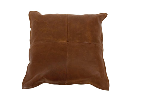 "Sophie Throw Pillow, Brown (18""x18""x4"")"