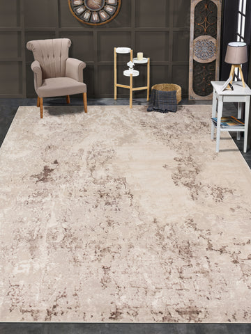 Louis Barron Beige/Brown Rug