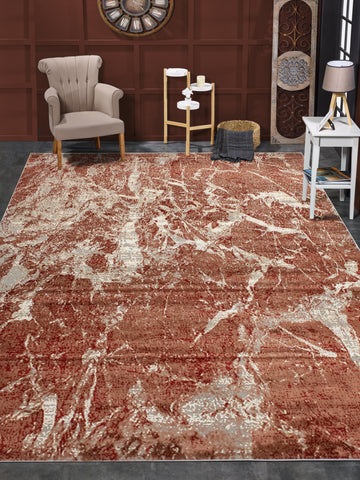 Louis Ayden Red/Rust Rug