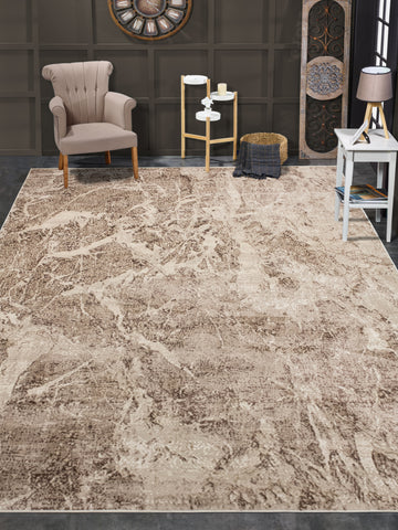 Louis Ayden Beige/Brown Rug