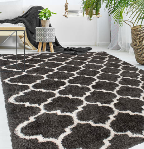Lux Ava Charcoal Rug