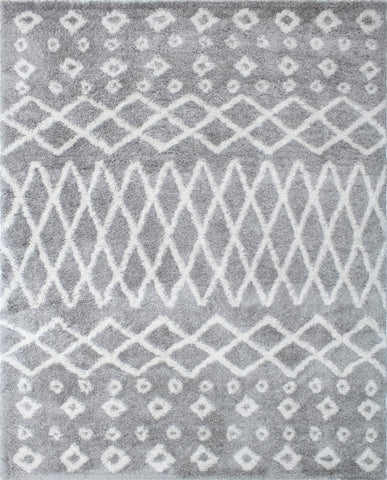 Lux Roy Silver Rug