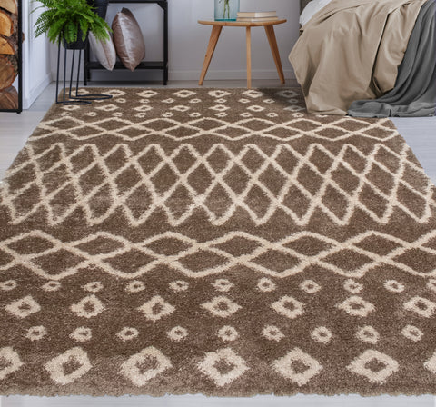 Lux Roy Brown Rug