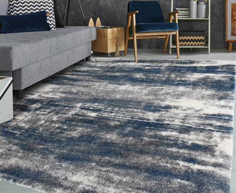 Lux Madison Blue/Grey Rug