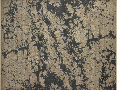 "Galaxy Cuthbeorht Green/Grey Rug, 8'1"" x 10'4"""