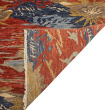 "Sophia Koray Red/Blue Rug, 8'2"" x 9'10"""