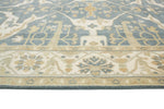 "Oushak Hailey Grey-Blue/Ivory Rug, 7'10"" x 10'0"""