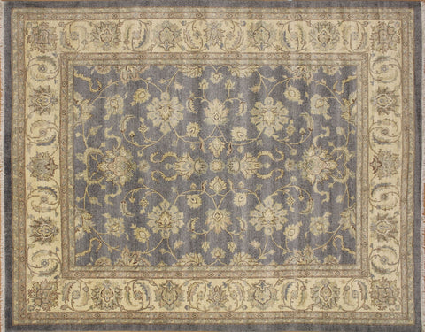 "Sun-Faded Ashlyn Grey/Ivory Rug, 8'3"" x 10'3"""
