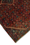 "Vintage Candice Red/Brown Rug, 4'9"" x 8'0"""