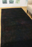"Vintage Adeem Purple/Blue Runner, 4'9"" x 9'10"""