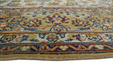 "Semi Antique Agharr Ivory/Grey Rug, 10'3"" x 13'6"""