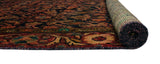 "Semi Antique Hadiiye Rust/Green Runner, 4'6"" x 9'6"""