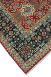 "Aria Mervin Red/Blue Rug, 8'10"" x 11'11"""