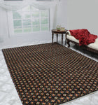 "Balochi Elvan Black/Red Rug, 6'4"" x 9'7"""