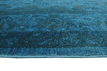 "Overdyed Golnar Blue/Brown Rug, 7'11"" x 9'7"""