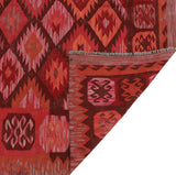 "Sangat Derward Pink/Red Rug, 6'3"" x 9'6"""