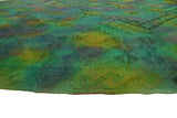 "Elan Ali Gold/Green Rug, 6'7"" x 9'2"""