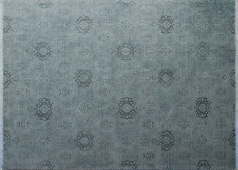 "Overdyed Maria Silver/Charcoal Rug, 10'0"" x 13'7"""