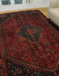 "Semi Antique Dayana Beige/Rust Rug, 6'5"" x 8'9"""
