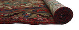 "Semi Antique Taran Blue/Red Rug, 5'0"" x 9'4"""