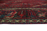 "Semi Antique Heath Red/Blue Rug, 7'0"" x 9'11"""