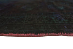 "Vintage Azfer Red/Brown Rug, 3'3"" x 4'7"""