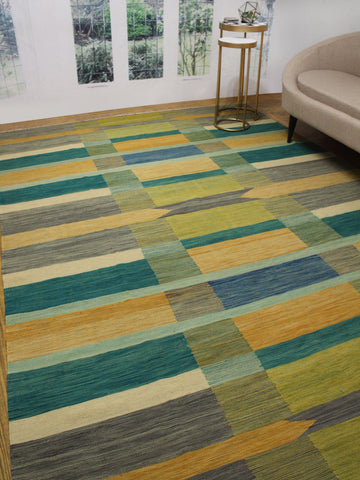 "Winchester Alger Grey/Gold Rug, 8'0"" x 11'5"""