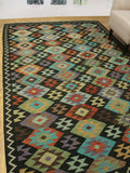 "Winchester Bower Brown/Rust Rug, 6'5"" x 9'8"""