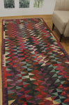 "Winchester Izzet Purple/Green Runner, 4'4"" x 9'9"""