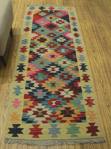 "Sangat Rhita Red/Pink Runner, 2'9"" x 7'0"""