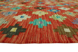 "Sangat Ahab Red/Brown Rug, 5'6"" x 7'11"""
