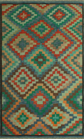 "Sangat Nadir Brown/Blue Rug, 6'3"" x 9'10"""