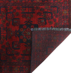 "Khal Mohammadi Rafaela Red/Black Runner, 2'8"" x 9'7"""
