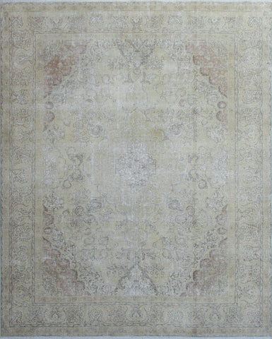 Vintage Emmy Lt. Gold/Brown Rug, 9'9 x 12'6