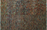 "Peshawar Russel Red/Gold Rug, 5'4"" x 8'3"""