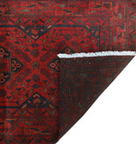 "Khal Mohammadi Bartleig Red/Black Runner, 2'7"" x 10'0"""