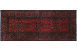 "Khal Mohammadi Codi Red/Black Runner, 2'7"" x 6'4"""