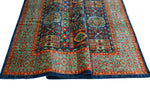 "Aria Cesarion Blue/Red-Rust Rug, 5'8"" x 7'8"""