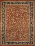 "Versailles Autumn Rust/Navy Rug, 9'0"" x 12'0"""