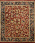 "Wali Crosleigh Red/Blue Rug, 8'3"" x 10'2"""